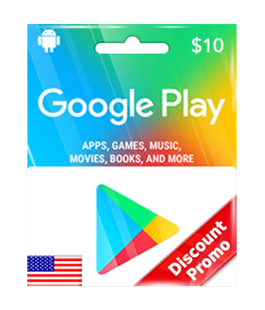 Google Play $10 Gift Code US [ Email Delivery ]