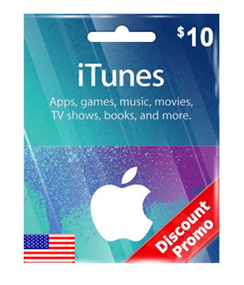 iTunes Gift Card US $10 [ Email Delivery ]