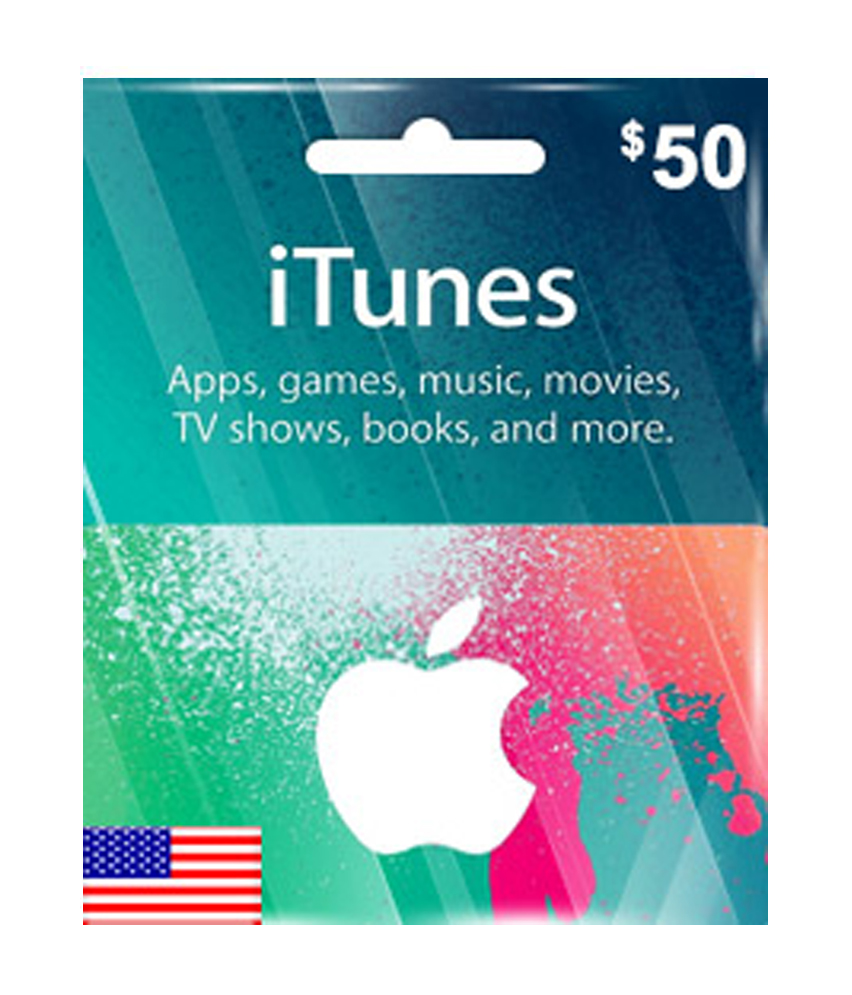 USD50 ITunes Gift Card